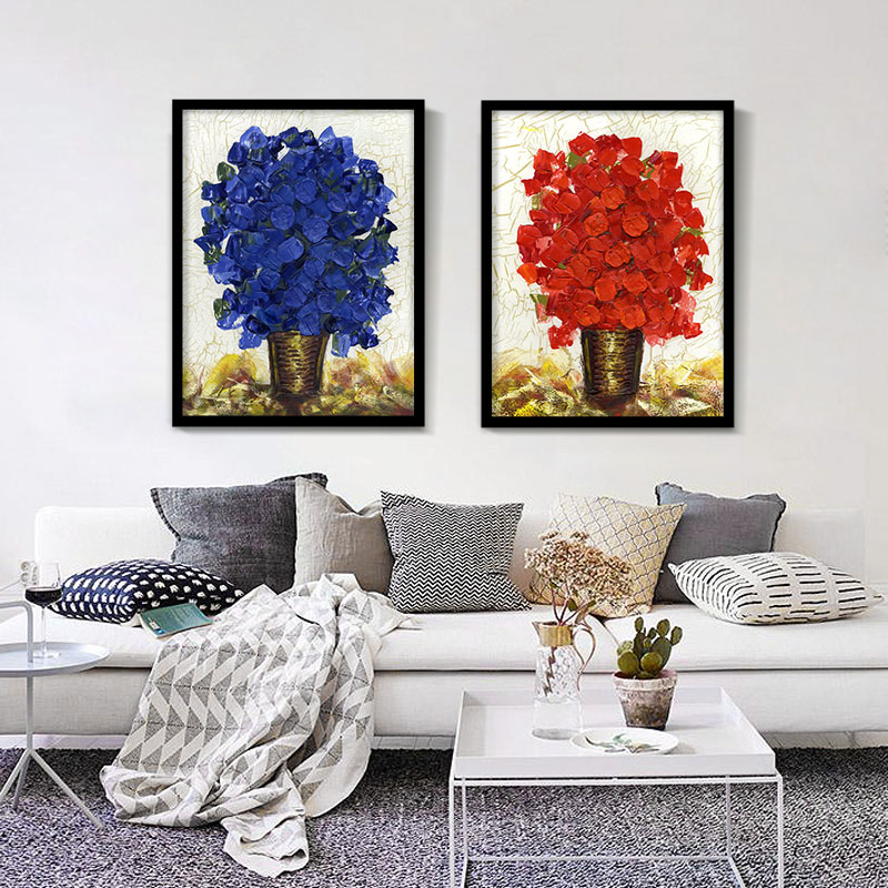 Popular rose art posters buy cheap rose art posters lots for Modern day decor