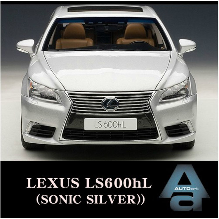 New 1:18 Autoart LEXUS LS600hL alloy black Lexus Alto car model(China (Mainland))