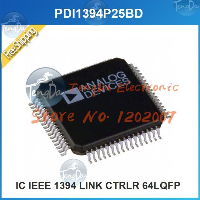 Free Shipping 5PCS/lot PDI1394P25BD IC IEEE 1394 LINK CTRLR 64LQFP 1394 PDI1394 1394P(China (Mainland))