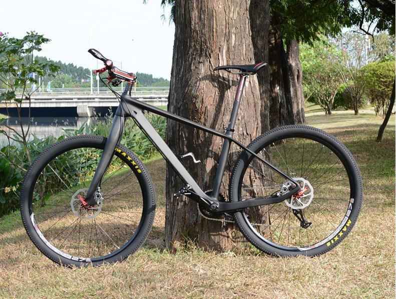 19inch carbon frame, carbon mountain bicycle,29*2.1 inch tires, 24/27/30 speed, carbon fiber bike,29er carbon bike