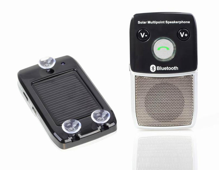 New Parrot Bluetooth Car Kits HF-710 With Solar Power Charger(China (Mainland))
