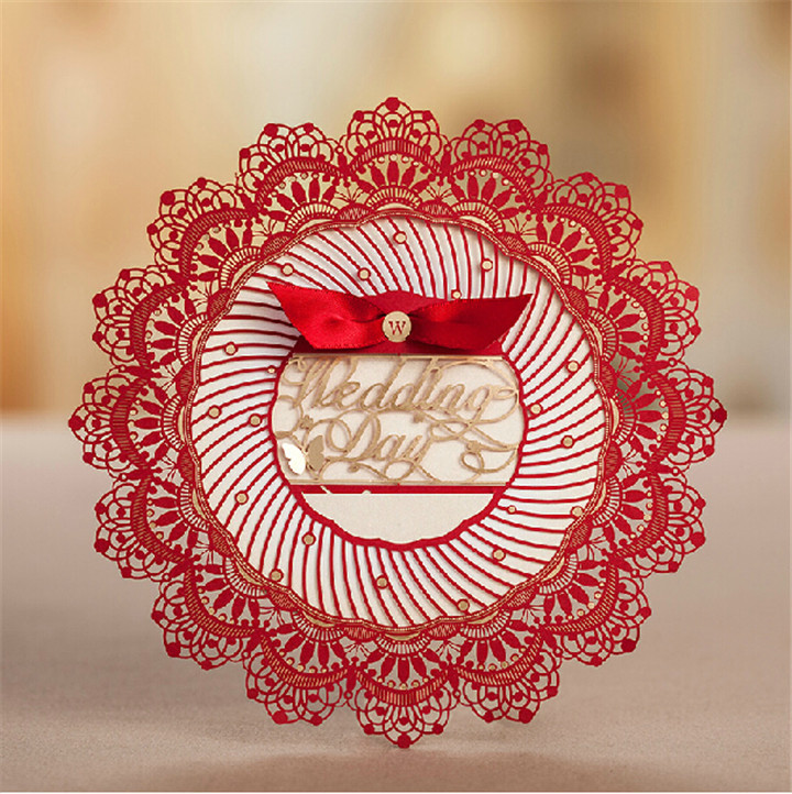 50pcs Lot 2015 Laser Cut Wedding Invitations Invitation Cards For Wedding Decorations Latest