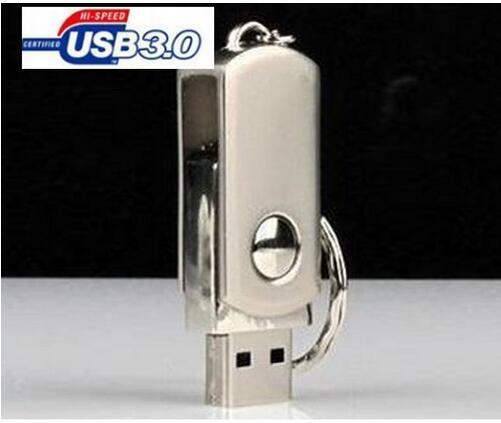 High speed flash disk 64gb silver metal 3.0 USB Flash Drive PenDrive 128gb 256gb 512gb Flash Drive USB3.0 Memory Stick Pendrive(China (Mainland))