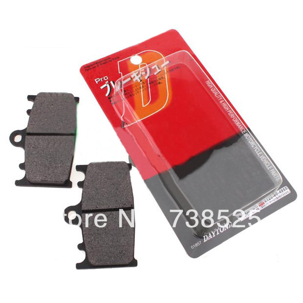 11 motorcycle accessories Bandit 400 75A 7AA brake pads front - Shanghai Gulong Motorcycle Co. Ltd. store