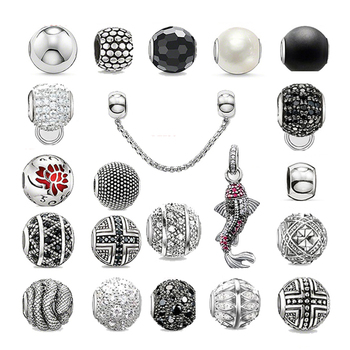 Super deal Diy accessories european beads fish charms fit for pandora original bracelet silver plated beads diy charms best gift