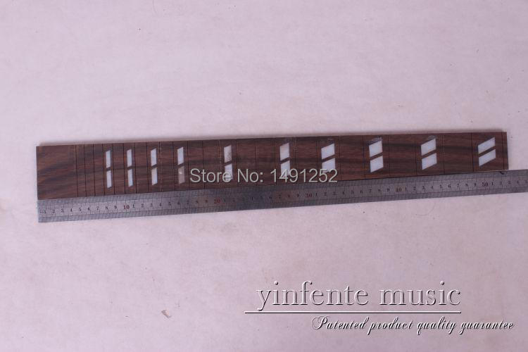 24.75 mm Limited Black Guitar Bass Guitar New 2 Pcs Nice Rose Wood Guitar Neck Fingerboard(China (Mainland))
