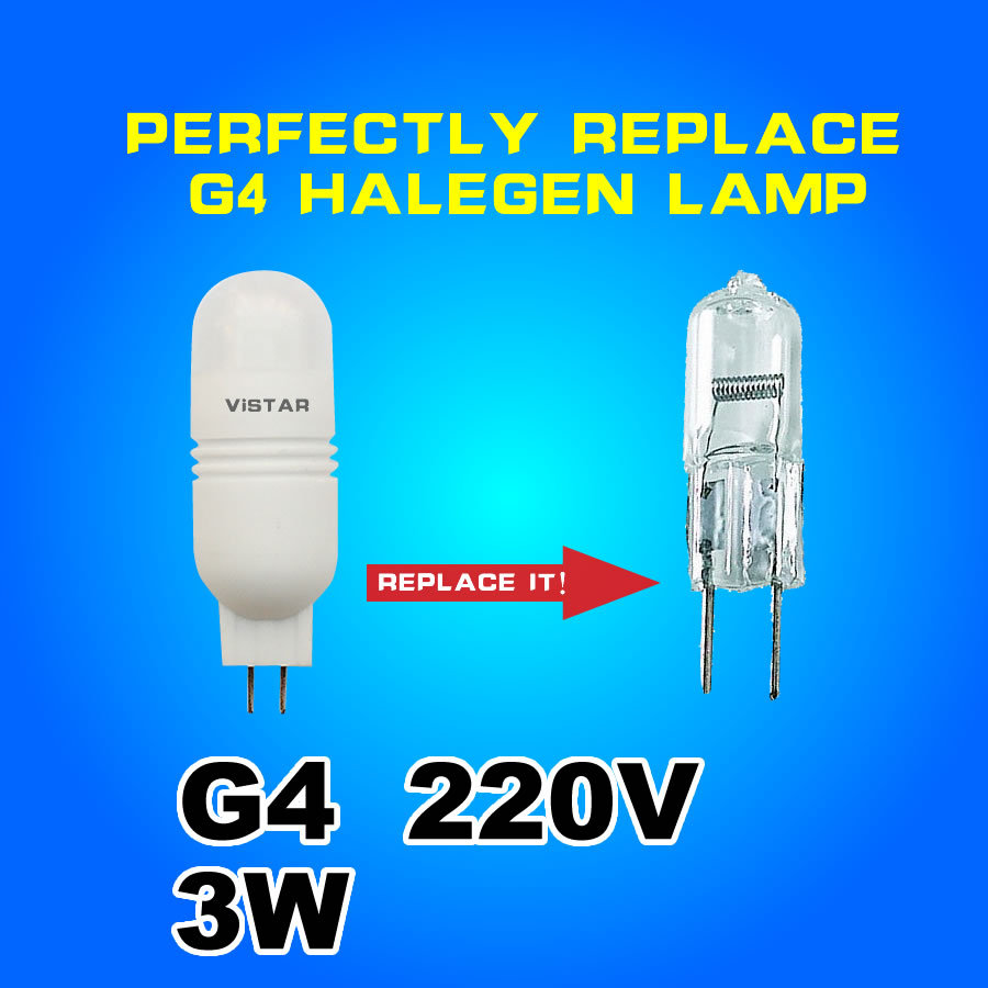3w G4 LED lamp ceramic g4 beads bulb crystal lamp warm white cold white high quality free shipping<br><br>Aliexpress