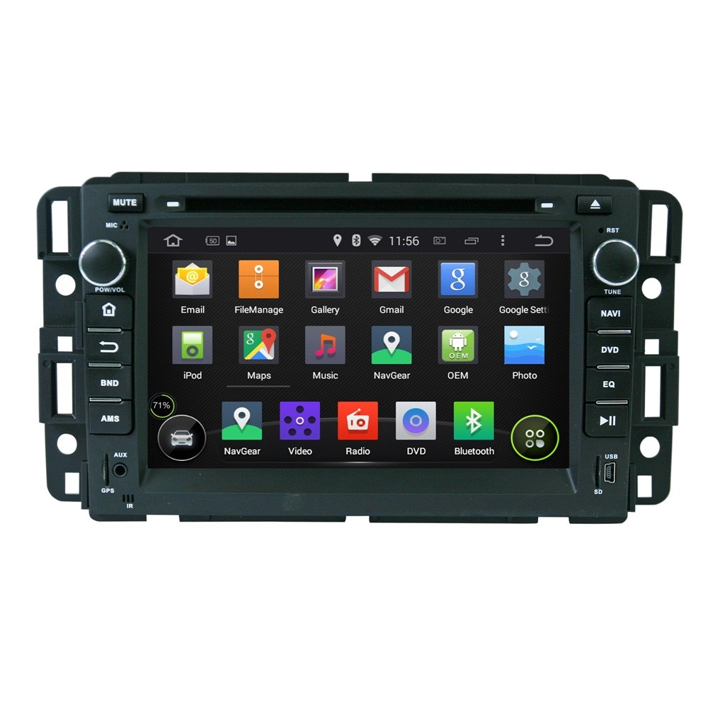 """7"""" Capacitive Touch Screen Android 5.1.1 OS Special Car DVD for GMC Yukon & GMC Suburban & GMC Tahoe & GMC Acadia with 1GB RAM(China (Mainland))"""