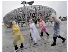 poncho rain raincoat waterproof coat dress jacket Burberry Thicker section 30g 22 g polychromatic 140*80*60CM