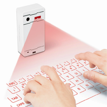 Mobile phone bluetooth wireless laser keyboard for  for ipad   flat plate magic infrared projection keyboard