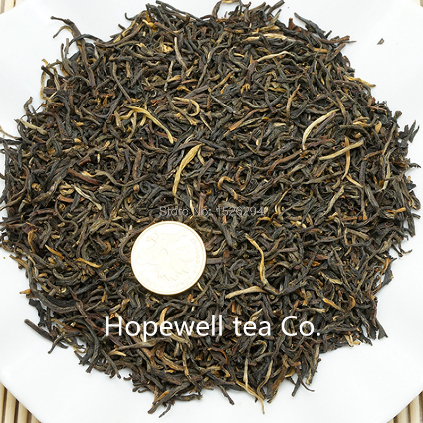 Free shipping Jinjunmei tea large congou black tea premium black tea red 250g 2015 Promotions Gift
