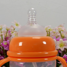 3pcs/LOT Silicone Bottle Nipple Baby Standard Neck Nipple Simulation Nipple Teat VCH21 P(China (Mainland))