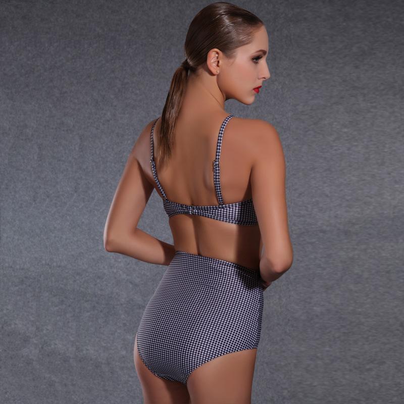 One Piece Swimsuit 2016 Hot Swim Wear Bodysuit Beachwear Bathing Suit Top Scrunch High Waist Plus Size Swimwear Women(China (Mainland))
