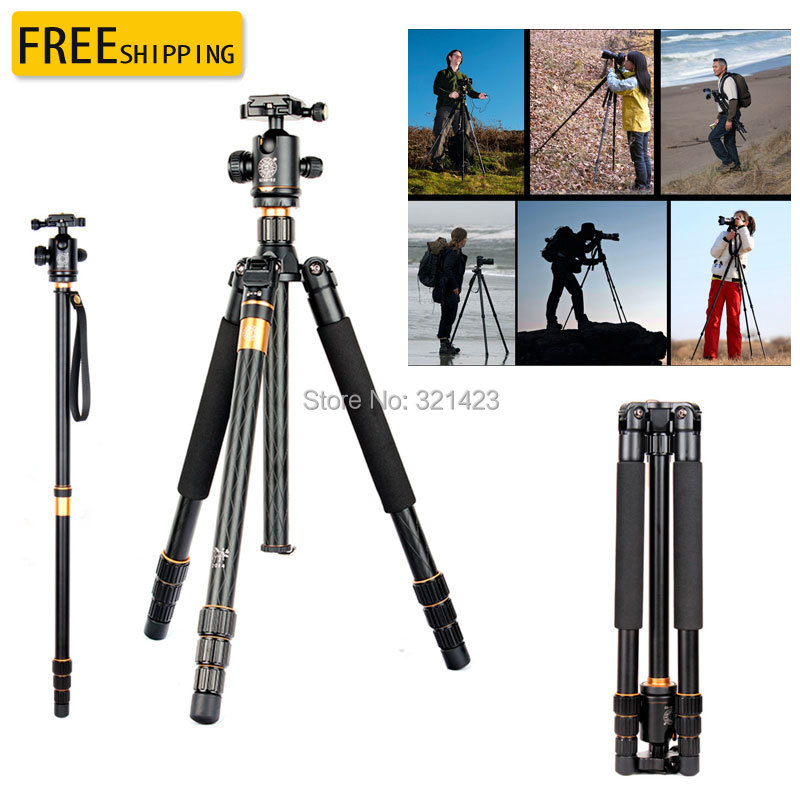 новый штатив Кью-999 зеркальная камера штатив профессиональный портативный цифровой штатив камеры Q999,Макс:63