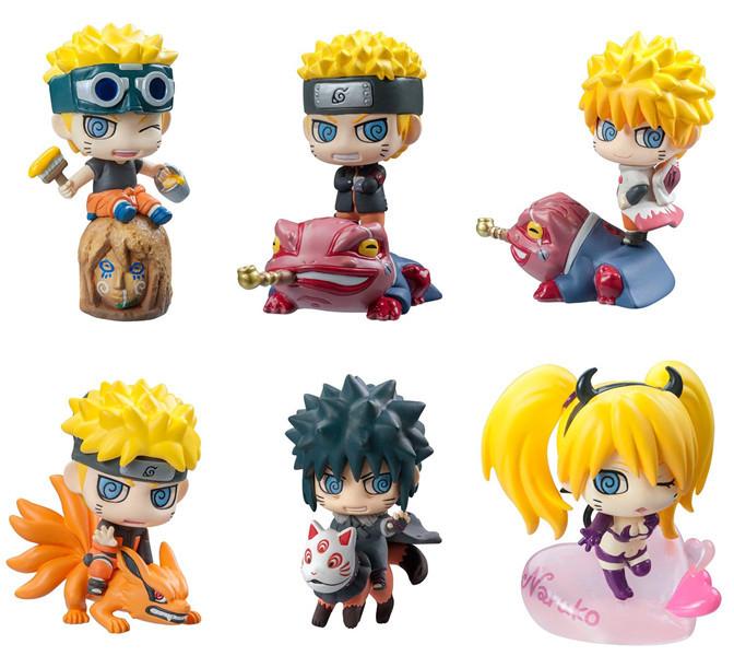 6pcs/set Funko Pop Naruto Sasuke Kakashi Uchiha Itachi Mounts Gaara Figures Japan Anime Collections Toys action figure gift #E(China (Mainland))