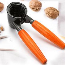 New Nut Cracker Sheller Walnut Pliers Metal Opener Nut Tool kitchen nutcracker drop shipping 11-212(China (Mainland))