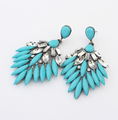 2015 Latest Europe Style New Fashion Long Charming Earrings Women Earring Accessories Party Gift(China (Mainland))