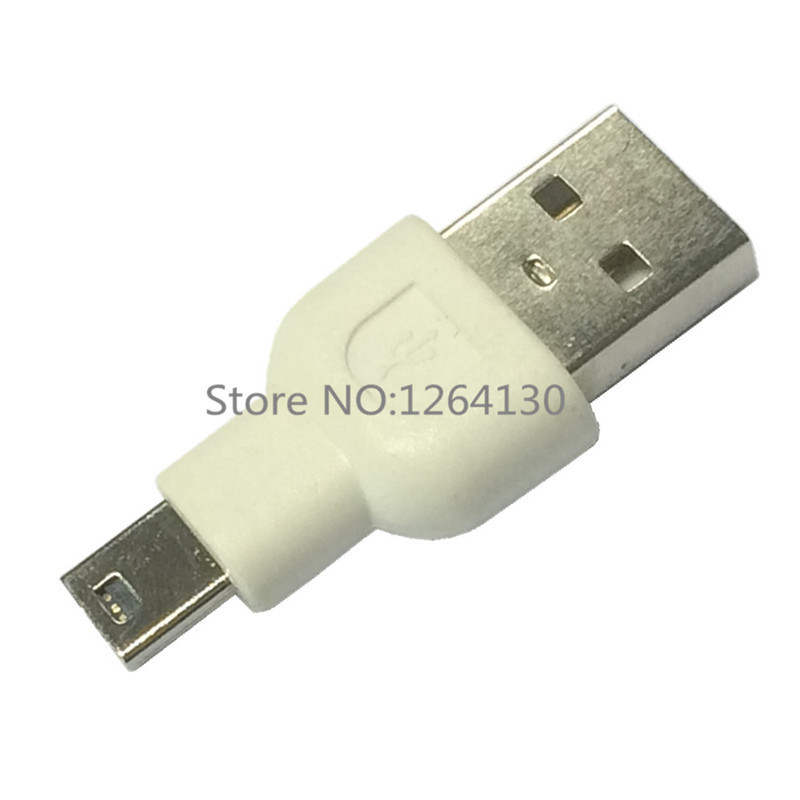 USB 2.0 Male to Mini 5 Pin Male Charging Data Adapter Converter Extension for MP3 MP4 in The Car and Computer(China (Mainland))