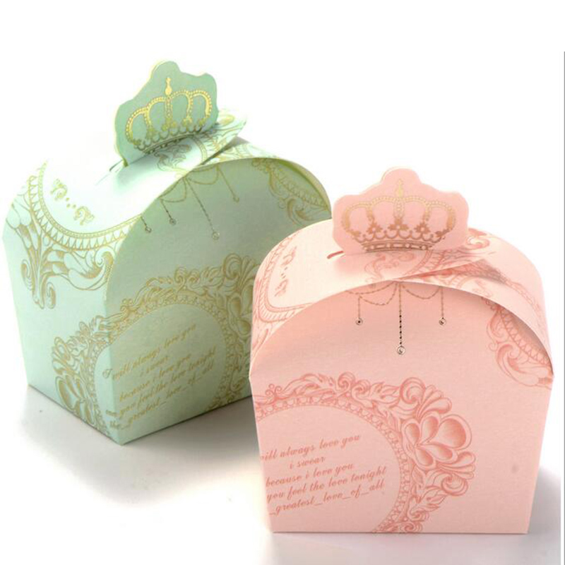 50 pcs Ribbon Wedding Favor Boxes and Bags Candy Box Sugar Case Princess Wedding Favor Box for Wedding Decoration Party Gift(China (Mainland))