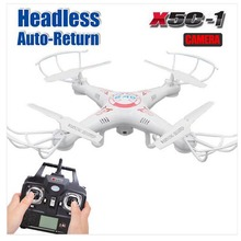 Syma X5C-1 Explorers Upgraded Version 2.4Ghz 4CH 6-Axis Gyro RC Quadcopter Drone RC Helicopter with Camera LCD RTF