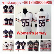 Women ladies Chicago Bears 13 Kevin White 17 Alshon Jeffery 89 Mike Ditka 34 Walter Payton 22 Matt Forte,camouflage(China (Mainland))