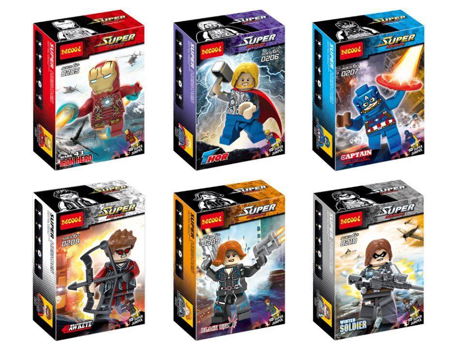 Детское лего Decool 0205/0210 2 /minifigures 0205-0210 детское лего decool 2015 0198