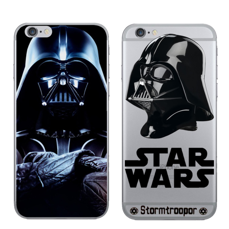 Newest Star Wars Beep Case Cover for iPhone 6 6s TPU Brand Case Solder Soft Ultrathin