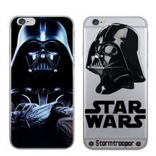 Newest Star Wars Beep Case Cover for iPhone 6 6s TPU Brand Case Solder Soft Ultrathin Phone Back Cover Wholesale   K734