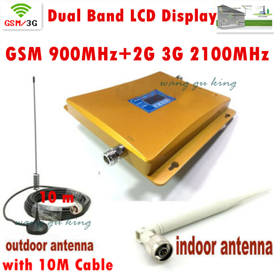 Здесь можно купить  Full Set GSM 900Mhz + 3G W-CDMA 2100MHz Dual Band Mini Signal Booster , 2G 3G GSM Mobile Phone Signal Repeater With Antenna Full Set GSM 900Mhz + 3G W-CDMA 2100MHz Dual Band Mini Signal Booster , 2G 3G GSM Mobile Phone Signal Repeater With Antenna Телефоны и Телекоммуникации
