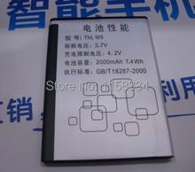 2000 mah телефон аккумулятор для THL W5 A2 Smart Android мобильный телефон аккумулятор