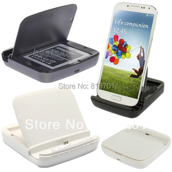3 in 1 Destop Micro USB Dock Station Charger Data Sync Cradle Extra Battery Docking Stand for Samsung Galaxy S3 S III i9300 i535