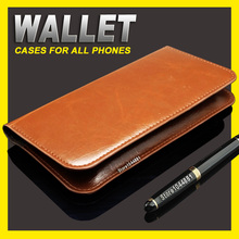 Jiayu F2 case cover Wallet leather case for Jiayu F2 cover case Crazy Horse Purse Pouch Jiayu F 2 case cover