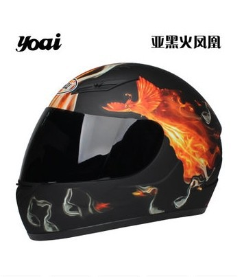 YOAI lesbian motorcycle helmet electric car ran safety antifog  -  007 motorcycle store