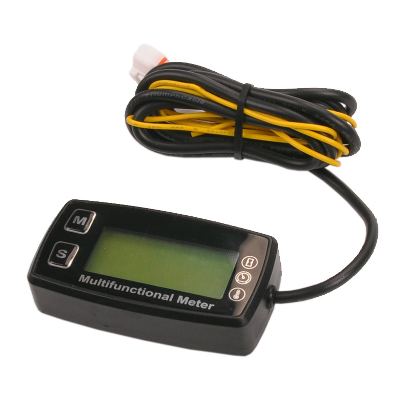 Digital tach hour meter theomometer temp meter for gas font b engine b font font b