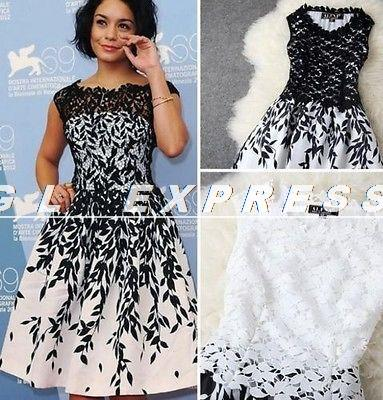 NEW Style Sexy Women Sleeveless Embroidery Lace Dres Clubbing Cocktail Party Dress(China (Mainland))