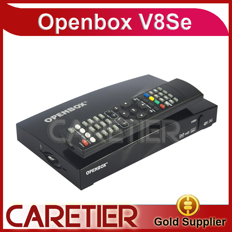 Original Open V8Se Digital Satellite Receiver with AV Support USB Wifi WEB TV Biss Key as S-V8 free shipping to Russia(China (Mainland))