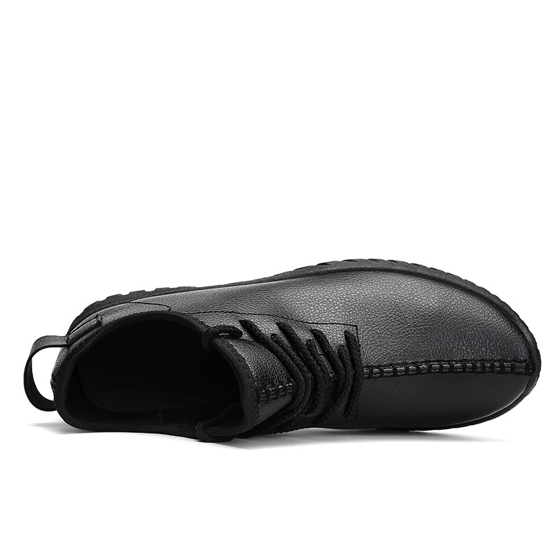 Low Cut Young Hole Without Lace Comfort Street Lace Shoes Male Meeting Smooth Shoe Formal Simple Easy Pure Color black,red,white