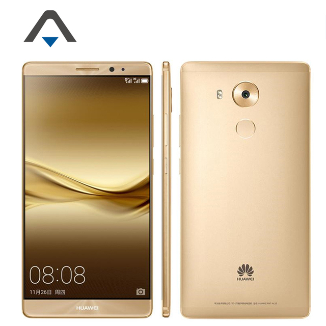 "Original HuaWei Mate 8 4G LTE Cell Phone 6.0"" FHD 1920X1080 Kirin 950 Octa Core 4 RAM 128G ROM 16MP Android 6.0 Fingerprint NFC"
