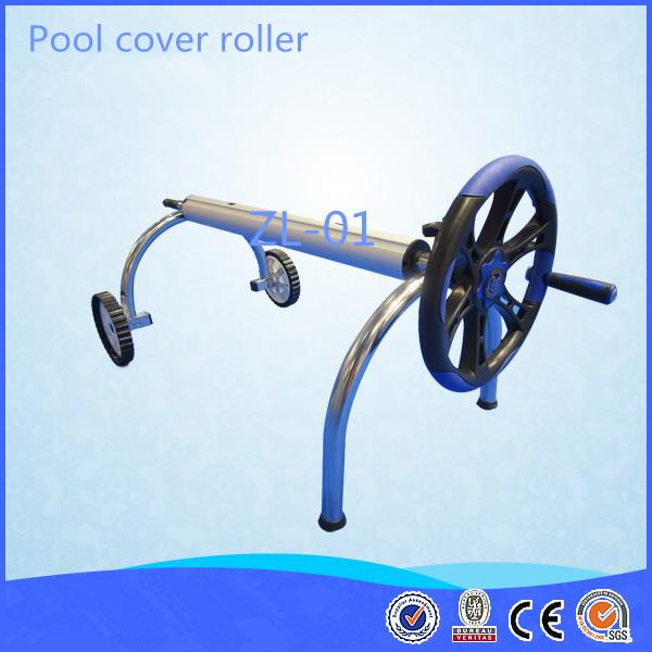 3 Stainless Steel Frame Aluminum Tubes Solar Pool Cover Roller For Underground Swimming