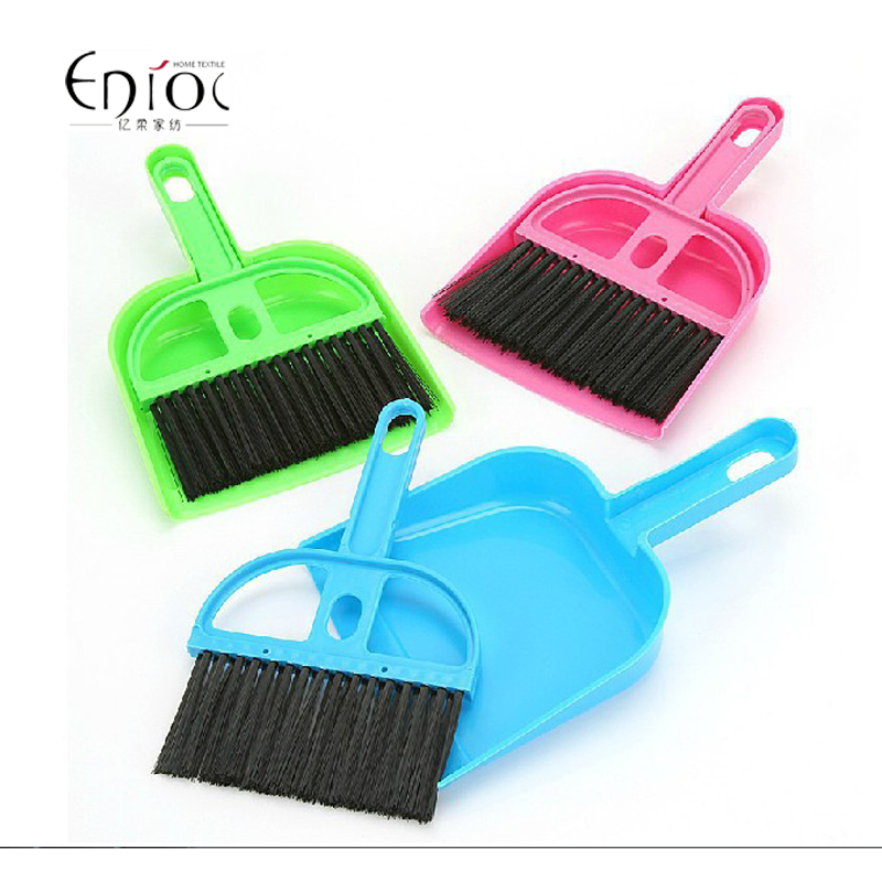 New Arrival Plastic Wire Hand Brush And Dustpan Brooms & Dustpans For Computer Around R-012(China (Mainland))