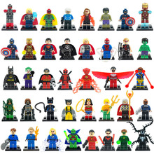 Minifigures For Individually Sale Marvel DC Super Heroes Avengers Batman Single Figure Building Blocks Set Model legoelieds Toys(China (Mainland))