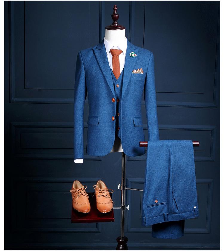 HTB1hstSQXXXXXa6XVXXq6xXFXXX2 - La MaxPa (jacket+pants+vest) New fashion men suit spring autumn blue suits casual slim fit prom groom party man wedding suit
