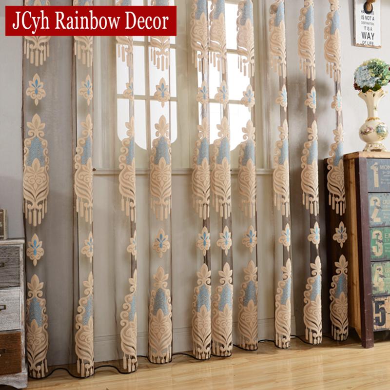 Cortinas azules compra lotes baratos de cortinas azules for Cortinas transparentes salon