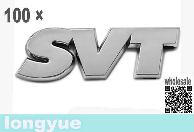 longyue 100pcs OEM Genuine Emblem Badge case for case ford Mustang SVT Decklid Trunk 1994-2004 - Peel & Stick(China (Mainland))