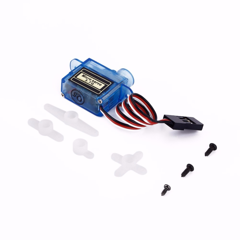Tiny Micro Nano Servo 3.7g For RC Airplane Helicopter Drone Boat For Arduino(China (Mainland))