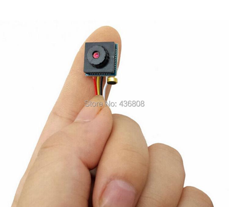 HD Pinhole Camera 600 line Miniature camera modules 3.3V 3.7V 5V analog AV ultra-small micro camera module Surveillance cameras(China (Mainland))