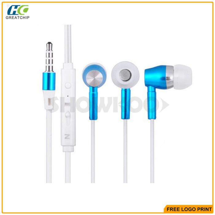 Showkoo Flashing LED Earphone With Inline Microphone(China (Mainland))