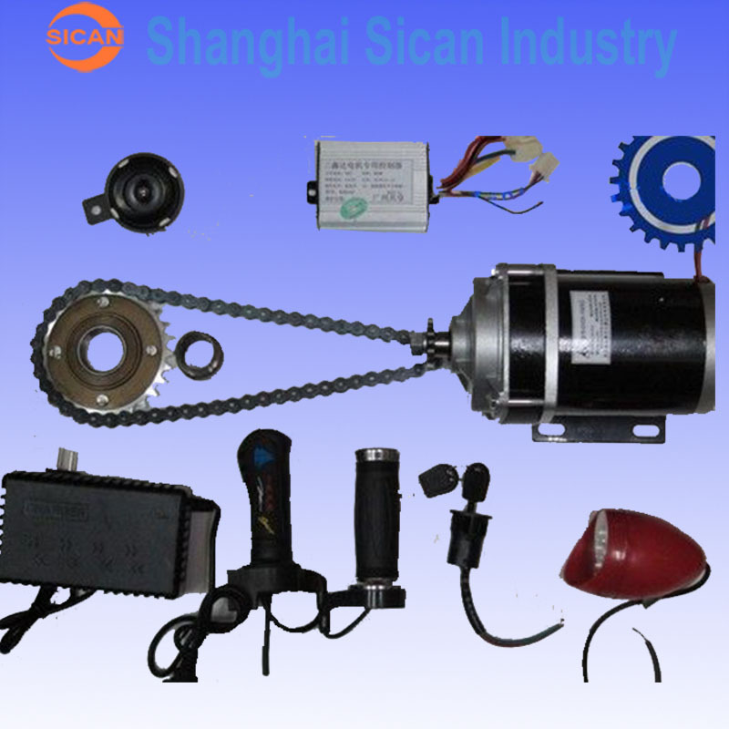 Electric Motor Kit For Trike: 48V 600W ELECTRIC MOTORIZED E BIKE TRIKE CONVERSION KIT-in