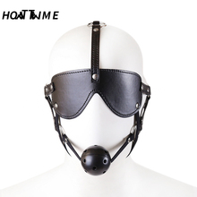 Buy HOTTTIME HOTTIME Erotic Sex Bondage Mouth Ball Gag SM Sex Toys Fetish Bondage Restraints Flirt Adult Games Couples for $6.35 in AliExpress store
