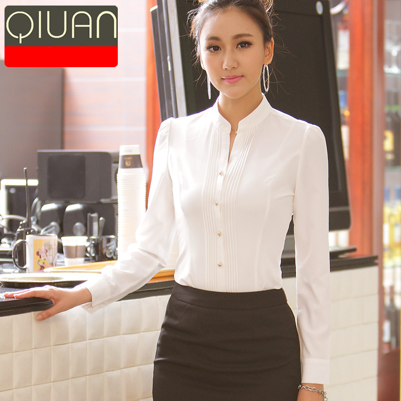 White Office Blouse 98
